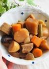 麺つゆで決まる♪基本の根菜の煮もの