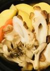 プチ鍋●竹輪とジャガイモのあまから煮込み