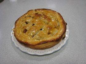 アツアツが美味しいアップルパイ