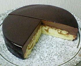 ☆チョコムースとシブーストのケーキ☆