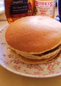 全粒粉のサワーミルクパンケーキ