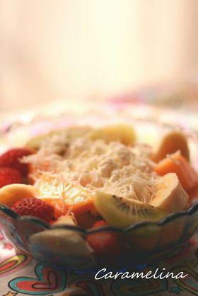 朝食にごきげん♡フルーツサラダ