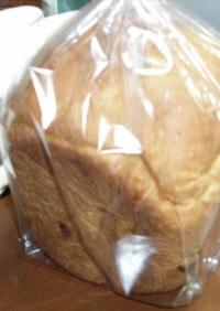 国産強力粉でノンオイル食パン(HB)