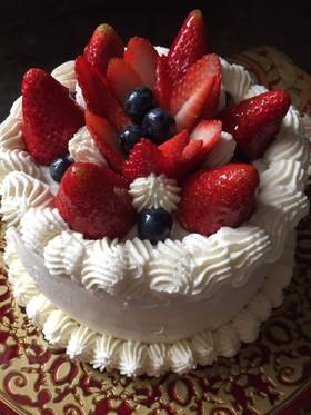 苺のショートケーキ バースデーケーキ