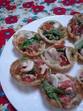 サラダin餃子カップ