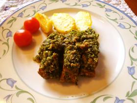 ラム肉のハーブパン粉焼き