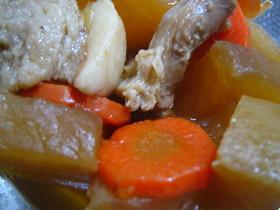 ♪豚バラ肉と根菜の和風煮♪