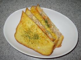ふわ♪フレンチトースト風クロックムッシュ