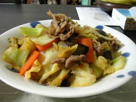 しんなりおいしい野菜炒め