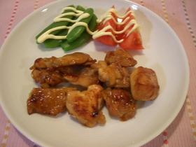 鶏の照り焼き~中華味~