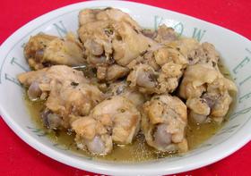 圧力鍋 de簡単★鶏手羽元の梅風味煮★