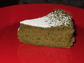 濃厚☆チーズケーキ(抹茶味)