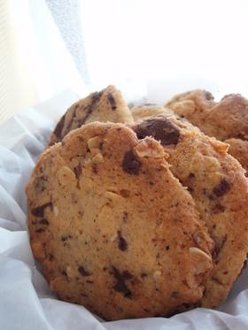 さくさく★チョコチャンククッキー