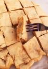 離乳食完了期〜きな粉でバナナホットケーキ