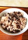 カンタンお赤飯の炊き方