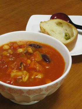 食べるスープ野菜11品チリトマトスープ