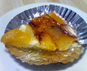 黄桃のアップサイドダウンケーキ