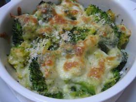 ブロッコリーのチーズ焼き