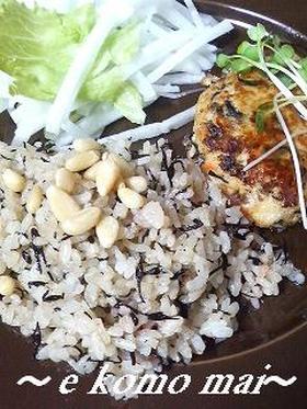 ひじきと梅の混ぜご飯