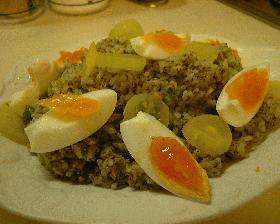 ジェノバ風ライスサラダ