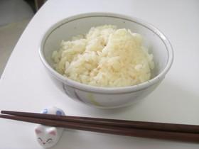 豆乳で炊いたご飯♪