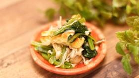 小松菜の煮浸し風