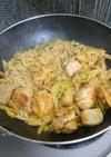 鶏モモのオーロラソース炒め