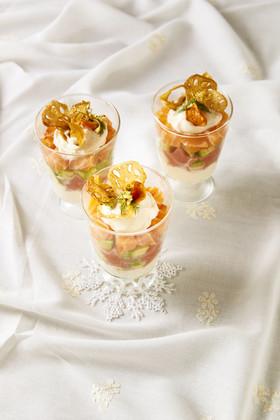 サラダトーフパフェ