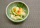 そば米と糸寒天のサラダ