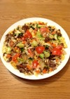 簡単!野菜たっぷりスパニッシュオムレツ風
