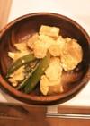 かんたん♪こえびと高野豆腐の卵とじ