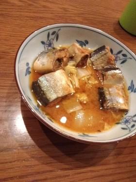 サバの味噌煮缶ずめアレンジ