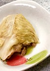 レンジで!白菜と豚肉のロールキャベツ風
