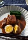 豚の味噌角煮
