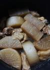 グルメのタレと炊飯器で簡単鶏大根
