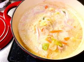ダイエット豆乳チャンポン風スープ