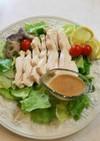 手作りサラダチキン!棒々鶏風