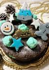 ☆チョコミントケーキ☆クリスマス☆