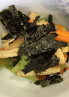 小松菜とエリンギの生姜炒め