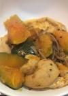 がんもどきと南瓜の煮物・生姜風味