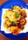 鶏胸肉1枚♡塩こんぶと梅の変わり竜田揚げ