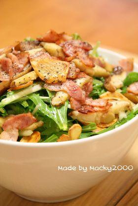 一番好き☆水菜のサラダ☆