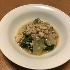 今年は安い!白菜と鷄挽肉のうま煮