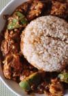 アボカドのココナッツスパイスカレー