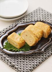 サッポロ一番みそ味の玉子焼きの写真