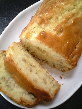 HCMで簡単♪バナナのパウンドケーキ