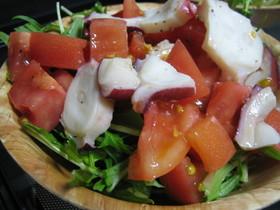 タコマリネ風サラダ