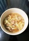 簡単☆白菜とベーコンのスープ