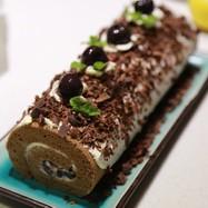 クリスマス*チョコロールケーキ