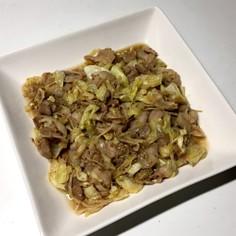 簡単★豚、キャベツ、えのきの和風炒め
